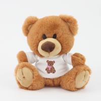 15cm Charlie Bear Caramel Tshirt