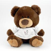 25cm Charlie Bear Chocolate Tshirt