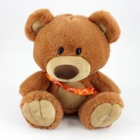 25cm Charlie Bear Caramel Sash