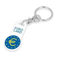 Euro Trolley Stick Keyring