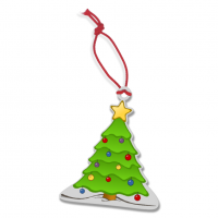 90mm Custom Shaped Christmas Decoration