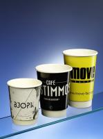 Double Wall Branded Paper Cups 8-20oz