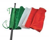 ITALIAN FLAG 100X150 - SATIN