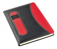 NOTEBOOK RED/BLACK (NO BOX)