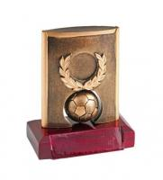 TROPHY FOOTBALL - BASE WOOD h=115 mm
