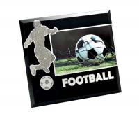 "PHOTOF. GLASS """"""""FOOTBALL""""""""- PHOTO 20X15"""""