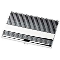 BUSINESS CARD HOLDER STRIPED- 93x58