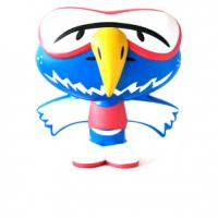 Mascot Large Bird Stress Shape