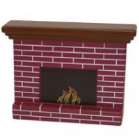 Fireplace Stress Shape