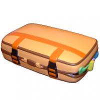 Suitcase Stress Shape