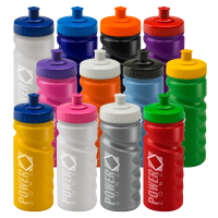 500ml Finger Grip Sports Bottle - Choice of 12 Colours