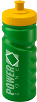500ml Finger Grip Sports Bottle Green