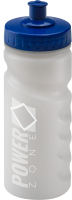 500ml Finger Grip Sports Bottle Clear