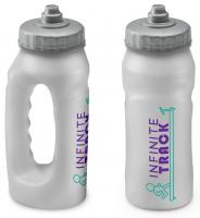 500ml Jogger Running Sports Bottle Clear