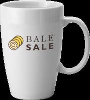 Hayward White Earthenware Mug