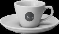 Torino Espresso cup & saucer