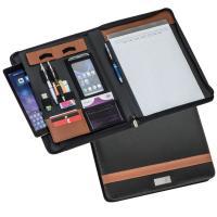 DIN A4 conference folder brown