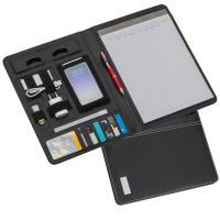 DIN A4 conference folder black