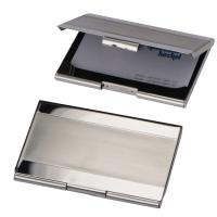 Business card holder grey