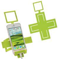 Mobile phone holder Cross applegreen