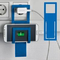 Mobile phone holder Mono blue