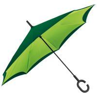 Reverse umbrella - double layer - 190T pongee applegreen