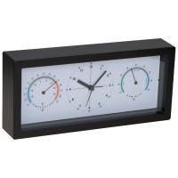Desk clock black