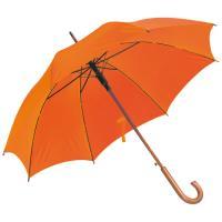 Automatic umbrella orange