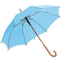 Automatic umbrella light blue