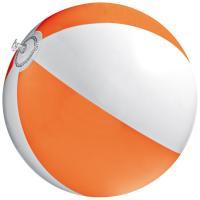 Bicoloured beach ball orange