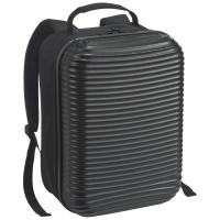 Backpack with hardcover front black