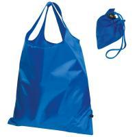 Foldable shopping bag blue