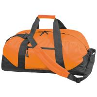 Polyester sports or travel bag orange