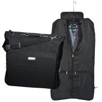 Polyester suit carrier black