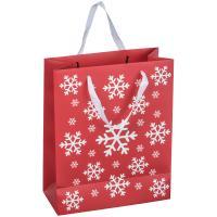 Big Christmas paper bag red