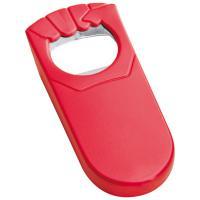 Bottle opener red