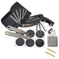 Bicycle repair kit, 17 pieces black