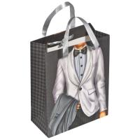 Gift bag man/woman with a crystal ---