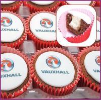 Logo Filled Cupcakes - Edible Logo