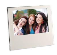 "Essex Photoframe - Aluminium - 7"" x 5"" (180mm x 130mm)"