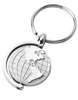 Spinning Globe Keyring