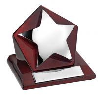 Star on Wood Trophy