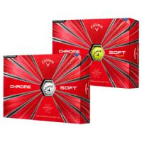 Callaway New Chrome Soft Golf Balls