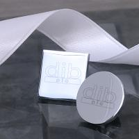 Lapel Pin for Engraving- Poly Bag (Round / Square)