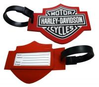 Custom Molded PVC Luggage Tag