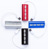 4 Ports USB Aluminium Alloy Hub