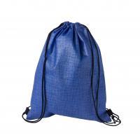 Checker Non-Woven Sports Bag Blue/Black