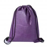 Checker Non-Woven Sports Bag Purple/Black