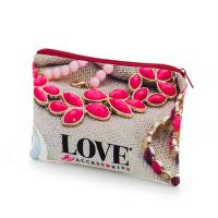Cosmetic & Toiletry Bag Flood Print, Small