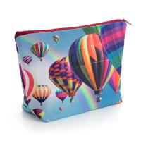 Cosmetic & Toiletry Bag Flood Print, Large
